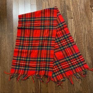 Vintage with Tags Charter Club Plaid Scarf